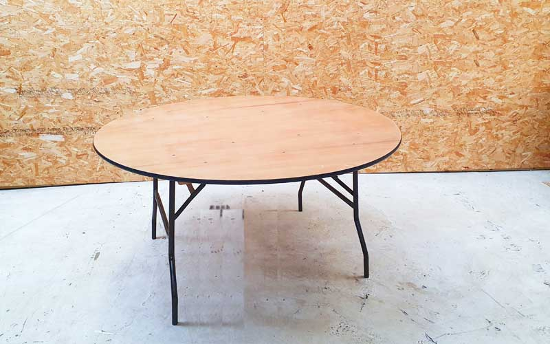 Five foot round table