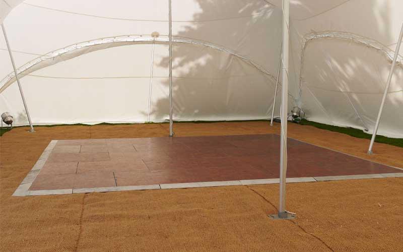 15' x 15' Dance-floor
