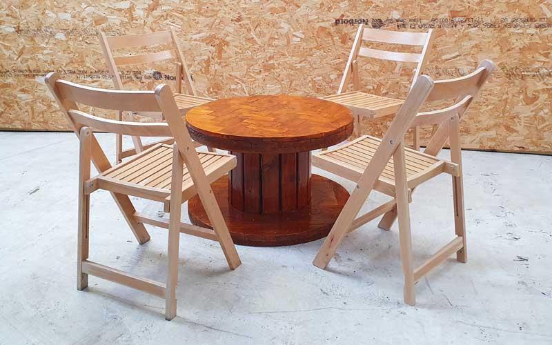 Herringbone Low Table